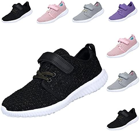 f196e9c3d89 YOOKOO Toddler Kid s Lightweight Sneakers Boys and Girls Cute Casual Shoes