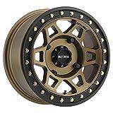 "Method Race Wheels 405 UTV Beadlock Method Bronze With Matte Black Ring 15x7"" 4x156"", 13mm offset 4.3"" Backspace, MR40557046943B"