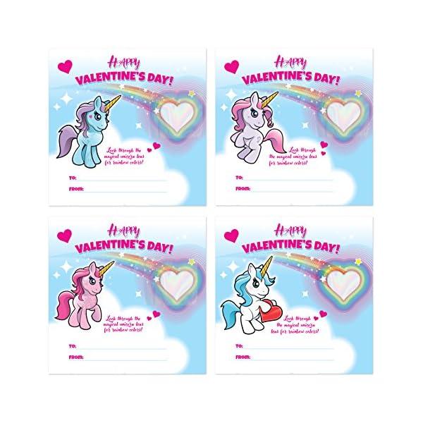 Kangaroo Rainbow Unicorn Valentine's Cards (28-Count) 6