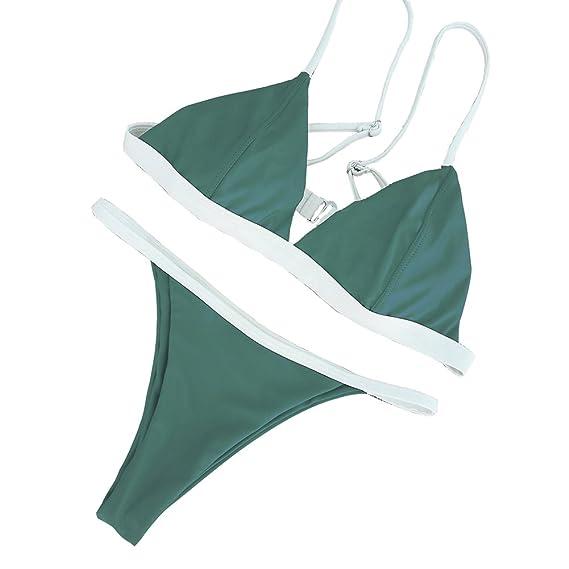 3c6b6bd51d FnieYxiu Women s Sexy Swimsuits Bikini Set Beach Swimwear Bathing Suits  Tankini Set