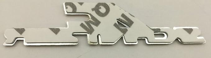 Badge Decal x2 New Black BMW AC Schnitzer Emblem Logo Replaces OEM