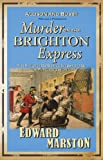 Front cover for the book Murder on the Brighton Express by Edward Marston