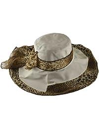 670b31e09d089 Women s Cheetah Wide Brim Linen Hat Beige · 35 · Product Details. Jeanne  Simmons