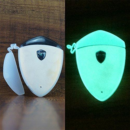 ModShield for Smok Rolo Badge Silicone Case ByJojo Cover Sleeve Wrap Skin Shield (Glow-in-the-Dark)
