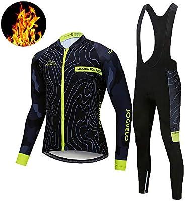 JOGVELO Maillot Ciclismo, Ropa Ciclismo Conjunto Hombre Jersey + ...