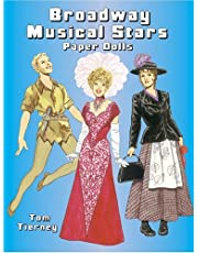 Broadway Musical Stars Paper Dolls