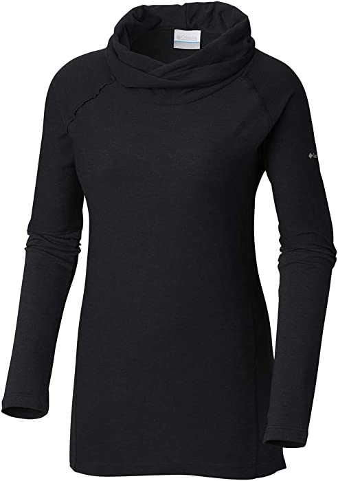 41959bc3044 Amazon.com: Columbia Women's Easy Going Long Sleeve Cowl, Black XS ...
