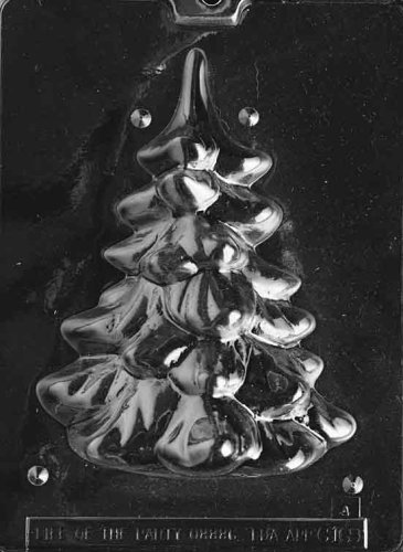 MEDIUM/ LARGE. CHRISTMAS TREE CHOCOLATE CANDY MOLD - PIECE 2 ()