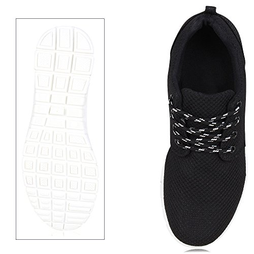 Bianco Sneaker Nero donna Ajvani Sneaker Nero Ajvani Nero Bianco Ajvani donna Ajvani donna Sneaker Bianco 1H1Aq4zZw