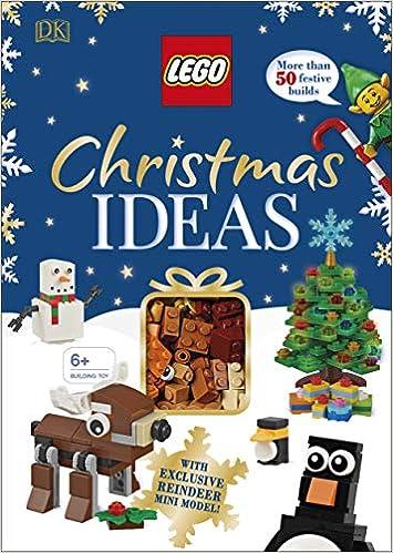 Lego Christmas Ideas With Exclusive Reindeer Mini Model Amazon Co Uk Dowsett Elizabeth Dk 9780241381717 Books