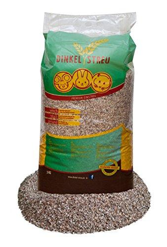 5 kg Dinkel Einstreu für alle Nager besonders Pfotenschonend