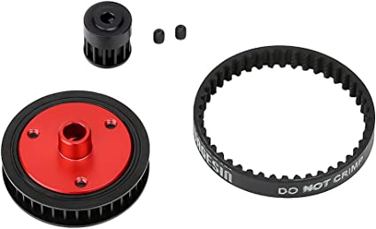 For 1//10 RC  Climbing Car Axial SCX10 II 90046 Belt Drive Transmission Gears