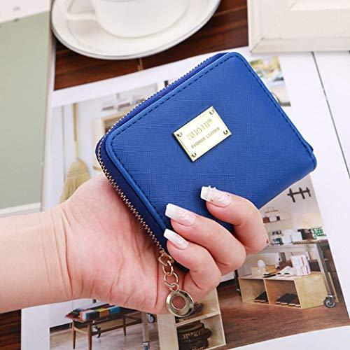 Cute Small Mini Wallet Holder Zip Coin Purse Clutch Handbag Womens Grils by Bookear (Image #1)