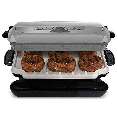 George foreman grp4842p multi plate evolve grill with ceramic grilling plates ebay - George foreman evolve grill ...