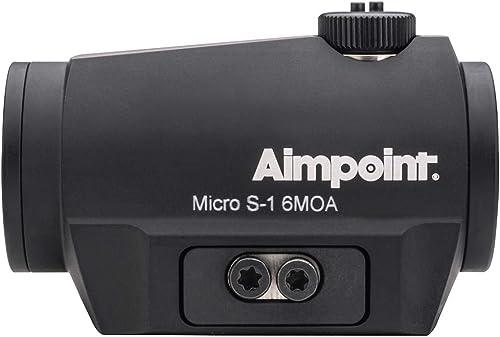 Aimpoint Micro S-1 Red Dot Reflex 200369 - Visor para rifle de escopeta (6 MOA)