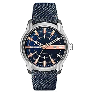 Diesel Men's Blue Dial Fabric Band Watch - DZ1769