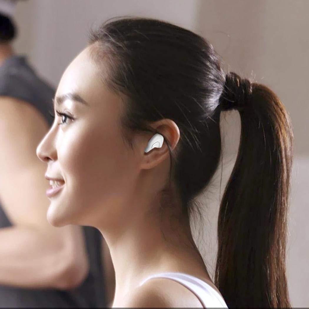 Miseku Mini Handsfree Earbuds Earphone Wireless Bluetooth Sport Headset for Phone Bluetooth Headsets