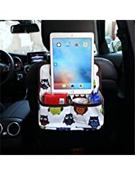 TraveT Car Backrest Storage Bag Organizer Cartoon Car Phone Ipad Store Clean up Hanging Cars Interior Accessories