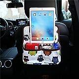 TraveT Car Backrest Storage Bag Organizer Cartoon Car Phone Ipad Store Clean up Hanging Cars Interior Accessories