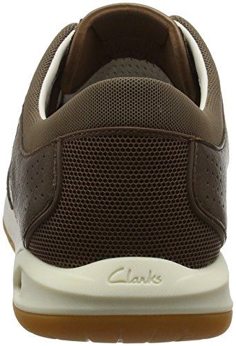 Clarks Ormand Sail, Náuticos Para Hombre Marrón (Dark Brown Lea)