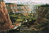 Tolkien's Middle Earth and Monsters Postcards, Alan Lee, John Howe, 0007142595