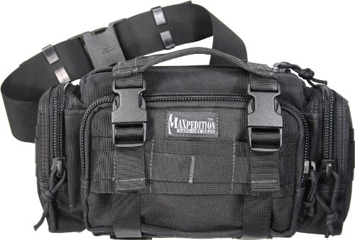 Maxpedition Pack Fanny - Maxpedition Proteus Versipack, Black