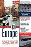 How to Get a Job in Europe, Cheryl Matherly and Robert Sanborn, 1884587283