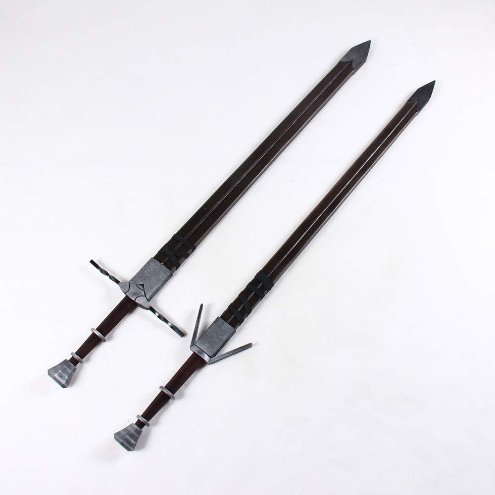 Witcher 3 Ciri Sword PVC Cosplay Prop Handmade