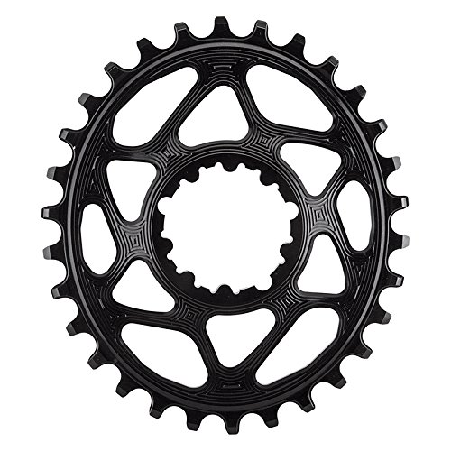 ABSOLUTE BLACK SRAM Oval Boost148 Direct Mount Traction Chainring Black/3mm Offset, 30t