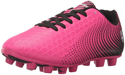 Vizari Unisex-Kids Stealth FG Size Soccer-Shoes, Pink/Black, 11 M US Little Kid by Vizari