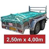 Anhängernetz Anhänger Netz Containernetz Ladungssicherung Transportnetz LKW PKW