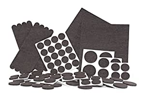 Felt Pads, Heavy Duty Adhesive Furniture Pads   Floor Protector For Tiled,  Laminate,
