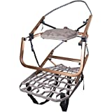 Lone Wolf Wide Flip Top Climber Treestand Deer Hunting Climbing Made in USA NEW