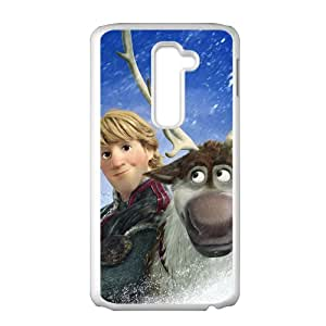 Frozen Kristoff and Sven Cell Phone Case for LG G2