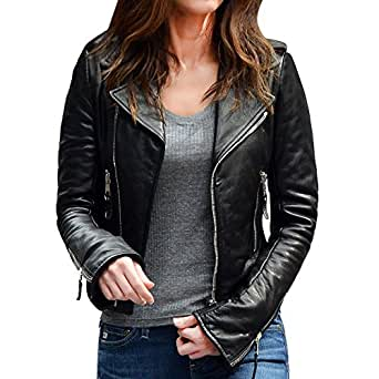Teenage Mutant Ninja Turtles 2 Megan Fox Black Jacket (X-Small)