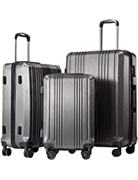 Luggage Expandable Suitcase 3 Piece Set with TSA Lock Spinner 20in24in28in