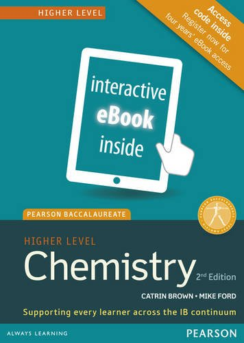Chemistry, Higher Level, for the IB Diploma (eText) (Access Code Card) (Pearson Baccalaureate) (2nd Edition)