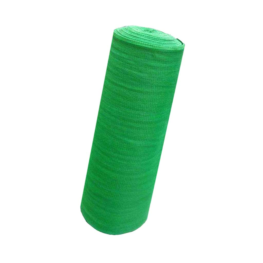 ガーデンシェードネット、熱防風窓防風バルコニー屋外ダンス60%シャドウ日焼け止め (Color : Green, Size : 3*50M) B07TVCRC7L Green 3*50M