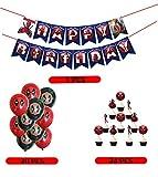 Superhero Deadpool Party Decorations Supplies Sets