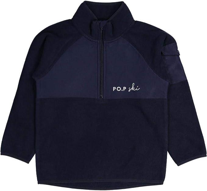 Pyret PO.P SKI Fleece Half Zip Pullover Polarn O 2-6YRS