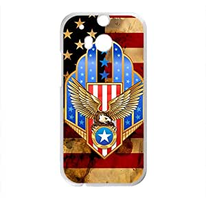 American Flag Hot Seller High Quality Case Cove For HTC M8