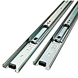 Liberty Hardware D80614C-ZP-W 14-Inch Ball Bearing Drawer Slides