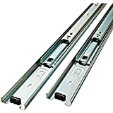 Liberty  D80618C-ZP-W 18-Inch Ball Bearing Drawer Slides
