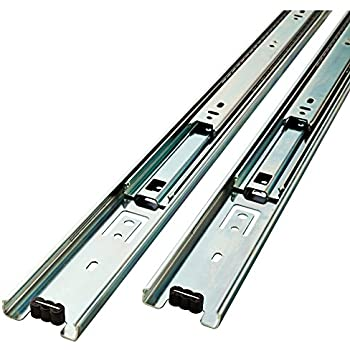 Liberty  D80616C-ZP-W 16-Inch Ball Bearing Drawer Slides