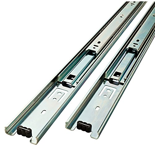 - Liberty  D80614C-ZP-W 14-Inch Ball Bearing Drawer Slides
