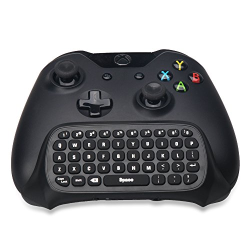 24-ghz-wireless-chatpad-keyboard-for-xbox-one-xbox-one-gamepad-with-audio-jack-and-green-backlight-b
