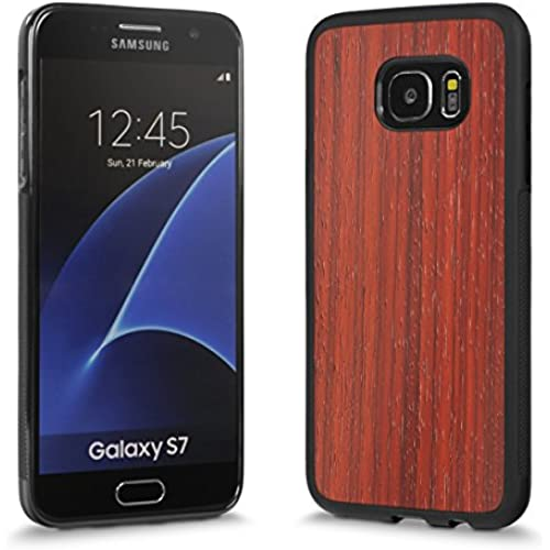 Cover-Up #WoodBack Explorer Real Wood Case for Samsung Galaxy S7 Edge - Padauk Sales