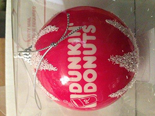 Dunkin Donuts Christmas Xmas ornament BALL -