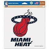 WinCraft NBA Miami Heat Patriotic Perfect Cut Color Decal, 8 x 8-Inch