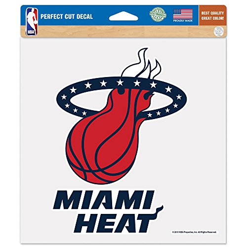 WinCraft NBA Miami Heat Patriotic Perfect Cut Color Decal, 8 x 8-Inch by WinCraft